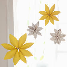 diy party decorations paper flower chandeliers