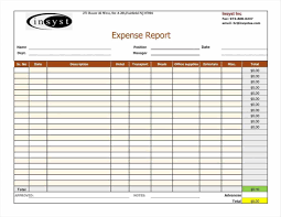Monthly Expense Report Template Expense Reports Templates Monthly Expense Report Template Excel New 15