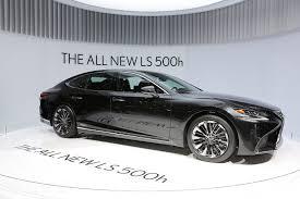 2018 lexus 500h. fine lexus the allnew 2018 lexus ls 500h gets revealed in geneva throughout lexus