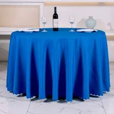 new arrival hot round table cloth topper tablecloth luxury table cover hotel wedding party restaurant banquet