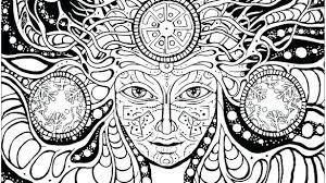 Coloring Page Psychedelic Pages Adult Free Table Google Search Get