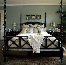 Marvelous Dark Furniture In A Beach Bedroom