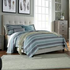 diy upholstered bed. Signature Design By Ashley Dolante Queen Upholstered Bed W Tufted Headboard Footboard Frame And Diy