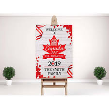 welcome sign canada day 2019 canada day