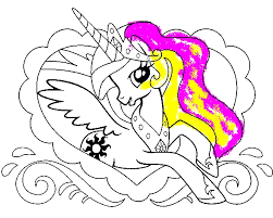 Princess Celestia in Love Frame My Little Pony Coloring Page by years old princess celestia in love frame my little pony coloring page on princess celestia coloring