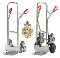 Außerdem schont sie auch kräfte, da schwere gegenstände leichter zu befördern sind. Fetra Alu Treppen Sackkarre Treppensteiger Transportkarre Treppenkarre 200 Kg Ebay