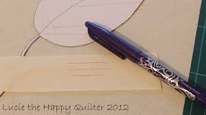 Pilot Frixion Pens | Lucie The Happy Quilter's Blog & You ... Adamdwight.com