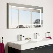 Bathroom Heated Mirrors Illuminated Bathroom Mirrors Modern Bathroom Decoration