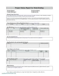 Financial Report Template Custom To Awesome Project Management Status Report Template Financial Excel