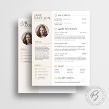 modern resume template 05 matching cover letter modern cv modern resume template 05 matching cover letter modern cv template photo word
