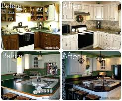 painted kitchen update laminate countertops change without removing them counter