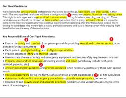 Flight Attendant Resume Sample Flight Attendant Resume Sample Complete Guide 60 Examples With For 35
