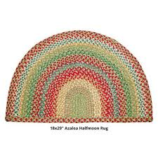 half moon rugs azalea half circle braided rug 18x29 half moon rugs uk suppliers half moon rugs