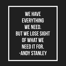 Andy Stanley Quotes New Andy Stanley Quotes On Twitter RT StuMcLaren Love This Quote
