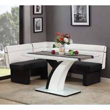 top breakfast nook table sets kitchen corner dining bench picture small set beautiful design dimensions black and chairs benches room booth built round