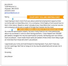 How To Write A Cover Letter For A Resume Awesome Cover Letter Examples Jobscan