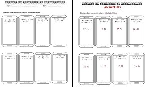 collection of system linear equations by substitution worksheet them and try to solve algebra worksheets gcse