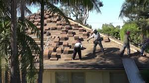 how to remove concrete roof tiles fastest way palos verdes roofing contractors