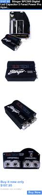17 best ideas about car audio capacitor subwoofer capacitors stinger spc505 digital led capacitor 5 farad power pro hybrid car audio spc