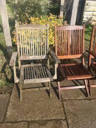 pressure wash garden chairs