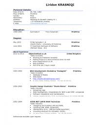 Generous Example Of A Good Resume Pictures Inspiration Example