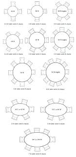 round table size for 8 beautiful size of round table for 8 designs round table size round table