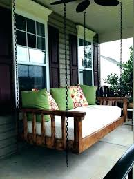 outdoor hanging bed how to make an outdoor hanging bed porch and garden daybed swing outdoor