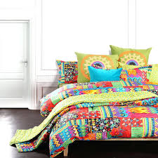 bohemian exotic bedding colorful modern duvet cover queen king size bed sheet european bohemian queen bedding