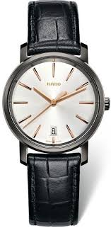 rado diastar diamaster leather men s watch r14064105 watchtag com rado diastar diamaster leather men s watch r14064105