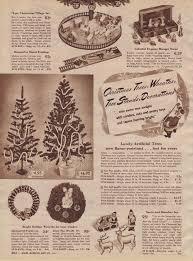 181 Best Shopping For Christmas Images On Pinterest  Retro Sear Christmas Trees