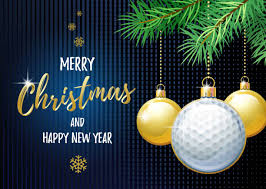 Image result for merry christmas  golf clipart