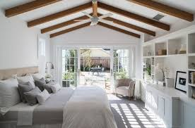 white master bedroom. The White Cabinets And Other Articles In Room Contribute A Lot Clear Clean Look Of This Farmhouse Bedroom. Master Bedroom