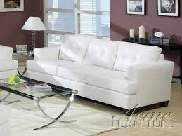Concept White Leather Sofa Bed Amazoncom To Modern Design