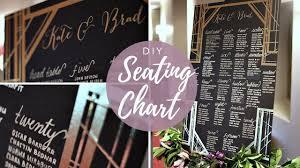 Diy Glam Seating Chart