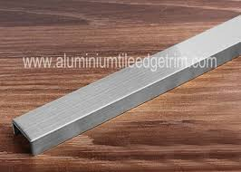 brushed stainless steel tile trim stainless steel border edge tile background wall decoration