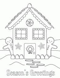 Small Picture Free gingerbread house coloring pages ColoringStar