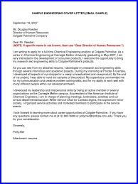Sample Email For Sending Resume And Cover Letter Gallery Cover