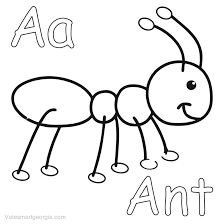 Ant Coloring Pages Free Download Coloring Pages For Kids