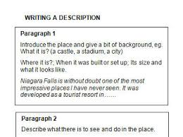 creative writing description of a place be descriptive essay a place of destruction
