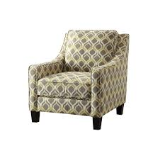 clever design grey and yellow accent chair coaster yellow accent chair