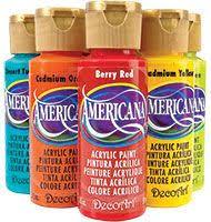 Decoart Americana Acrylic Paint Color Chart Americana Acrylics Conversion Charts Mandala Dotting Art