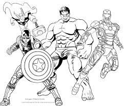 Disegni Da Colorare E Stampare Degli Avengers Fredrotgans
