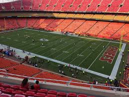 Chiefs Seating Chart With Rows Arrowhead Stadium Section 319 Rateyourseats Com