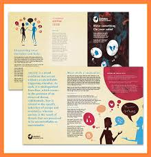 Pamphlet Template Microsoft Word Pamphlet Template Microsoft Word Nfljerseysweb Com