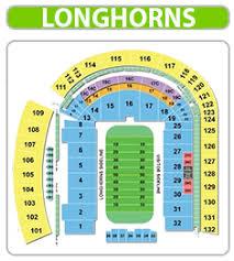 University Of Texas Seating Chart 20 Unfolded Dkr Texas Memorial Stadium Seating Chart