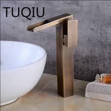 Antique/<b>Black</b> Oil Basin <b>Faucets Waterfall Faucet Bathroom Faucet</b> ...