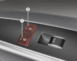 car door lock button. Kia K900: Rear Door Lock Button - Operating Locks From Inside The Vehicle Features Of Your KIA K900 2014-2018 Owner\u0027s Manual Car