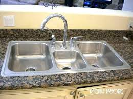 drop in stainless steel kitchen sinks sterling southhaven double basin sink beautiful kitche