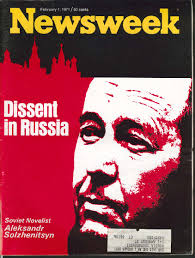 solzhenitsyn and the liberals national vanguard newsweek alexander