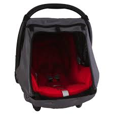 snoozeshade for infant car seats deluxe sunshade and sleep aid group 0 0